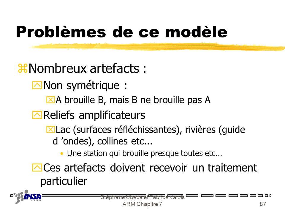 Stéphane Ubéda et Fabrice Valois ARM Chapitre 7