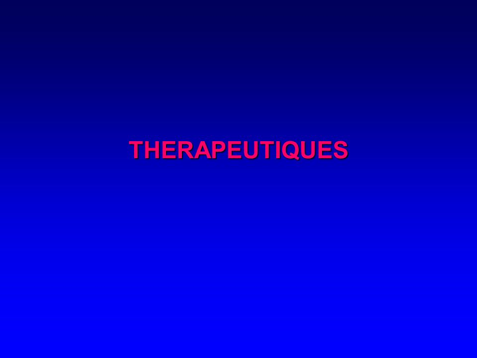 THERAPEUTIQUES