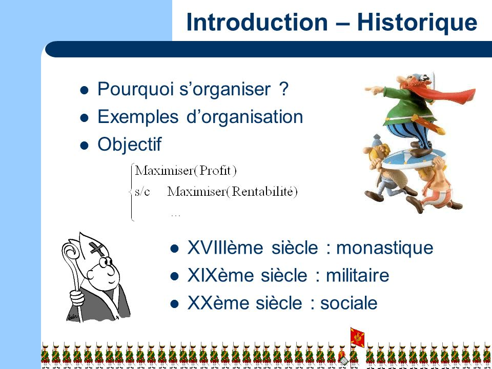 Introduction – Historique