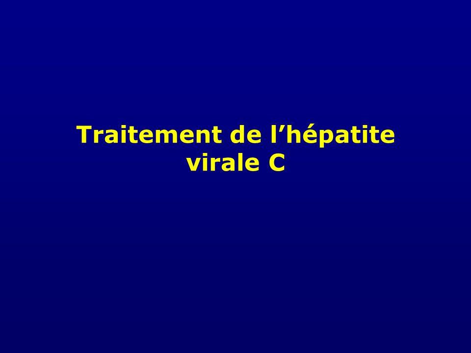 Traitement de l'hépatite virale C