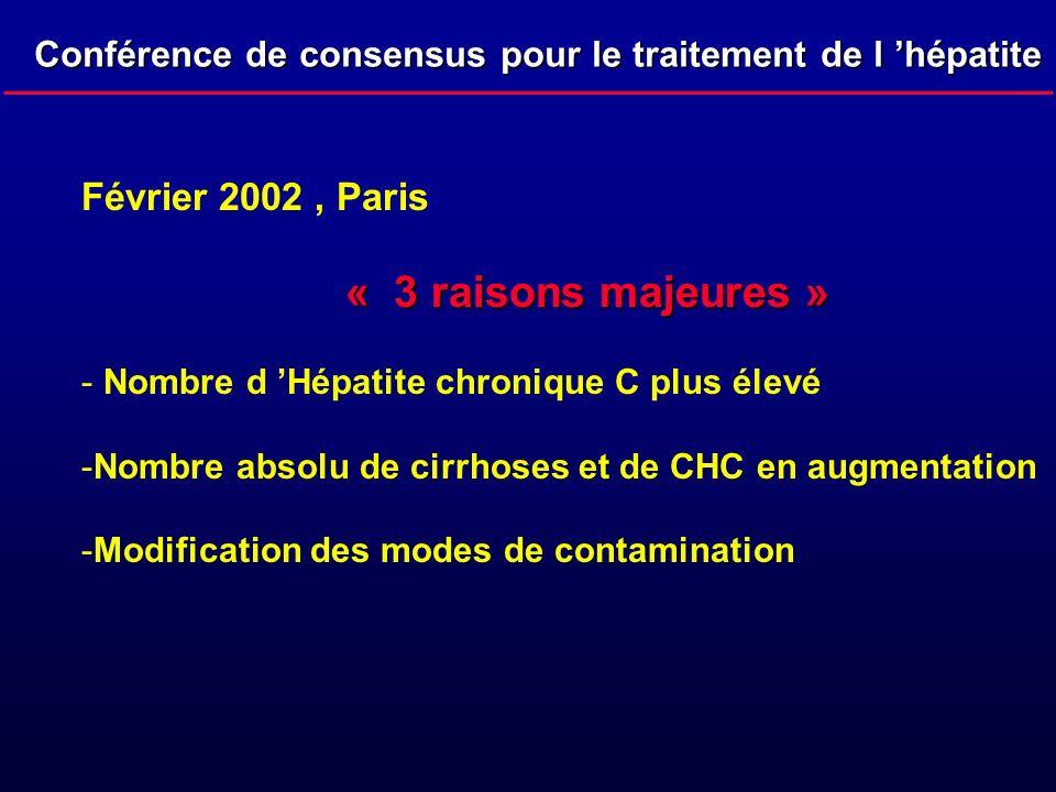 Février 2002 , Paris « 3 raisons majeures »