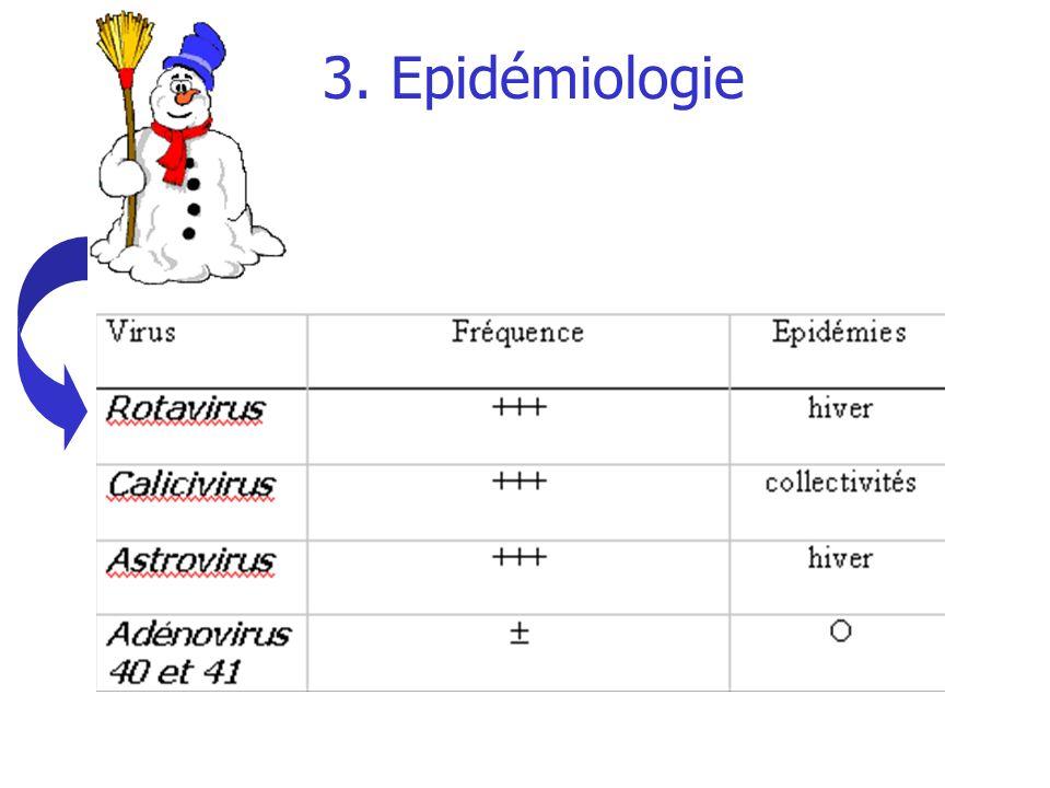 3. Epidémiologie