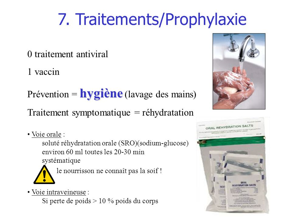 7. Traitements/Prophylaxie