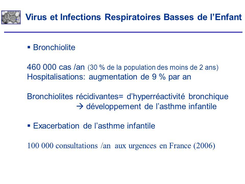 Virus et Infections Respiratoires Basses de l'Enfant