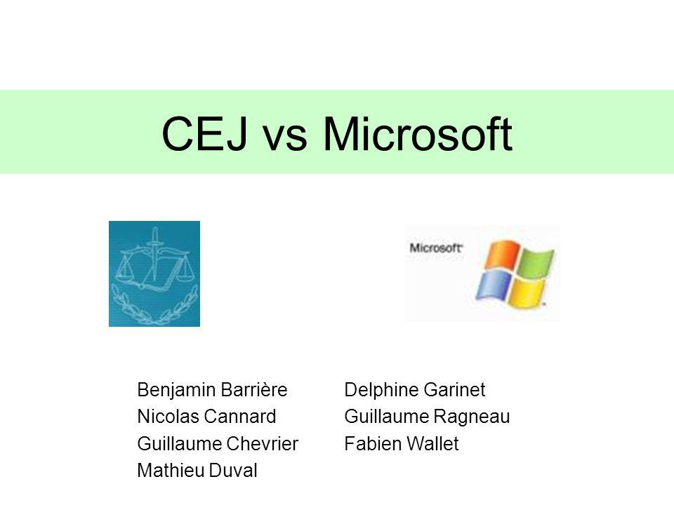 CEJ vs Microsoft