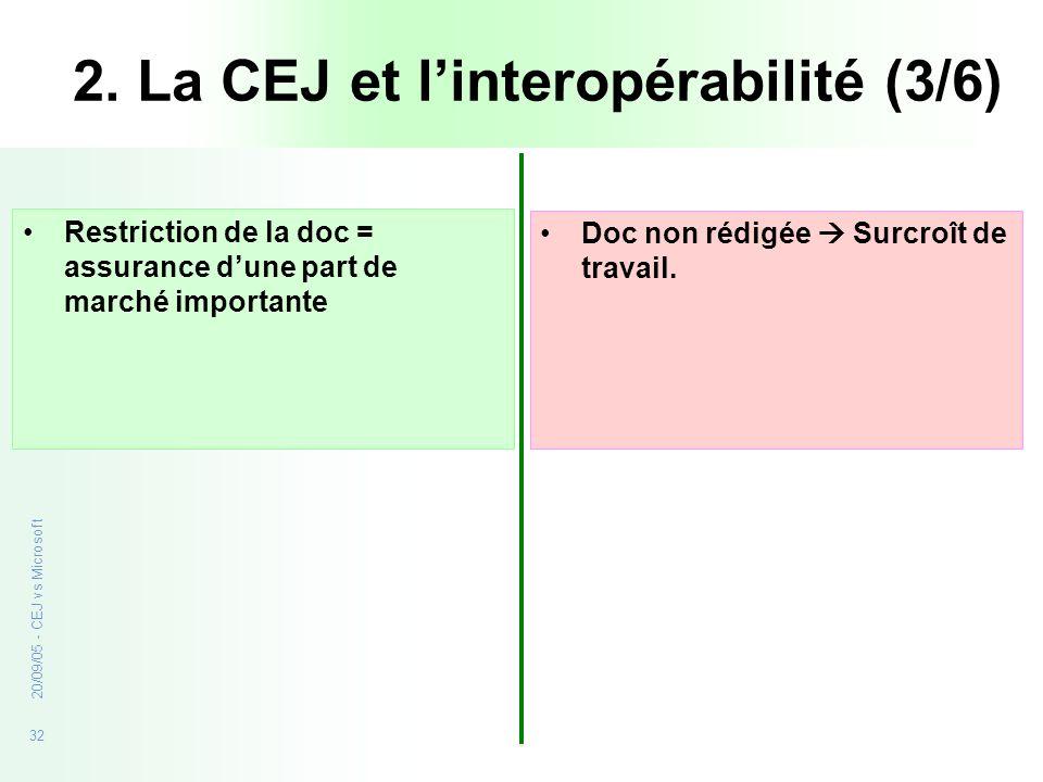 2. La CEJ et l'interopérabilité (3/6)