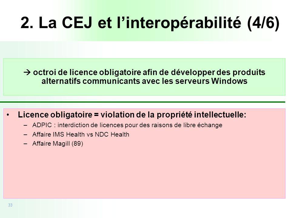 2. La CEJ et l'interopérabilité (4/6)