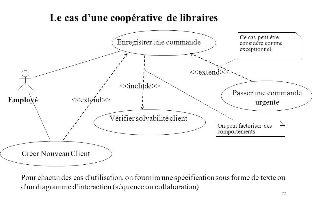 Le cas d'une coopérative de libraires