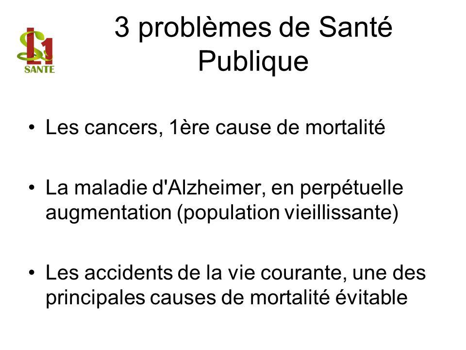 3 problèmes de Santé Publique