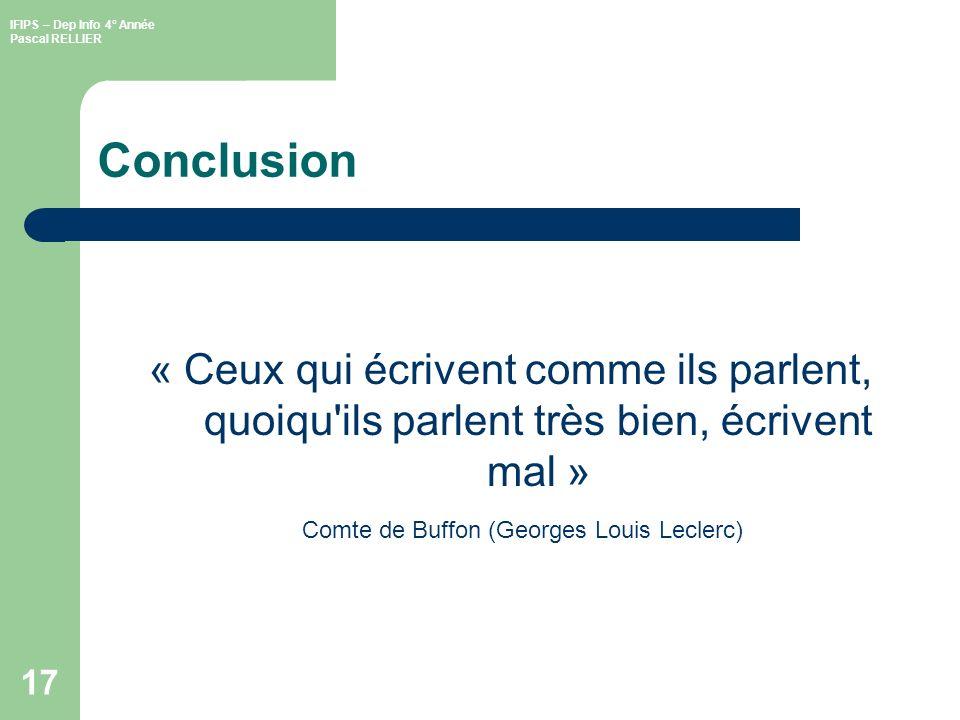 Comte de Buffon (Georges Louis Leclerc)