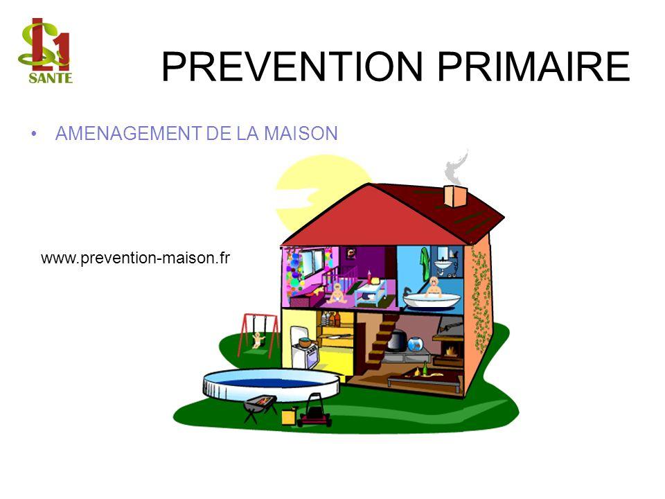 PREVENTION PRIMAIRE AMENAGEMENT DE LA MAISON www.prevention-maison.fr