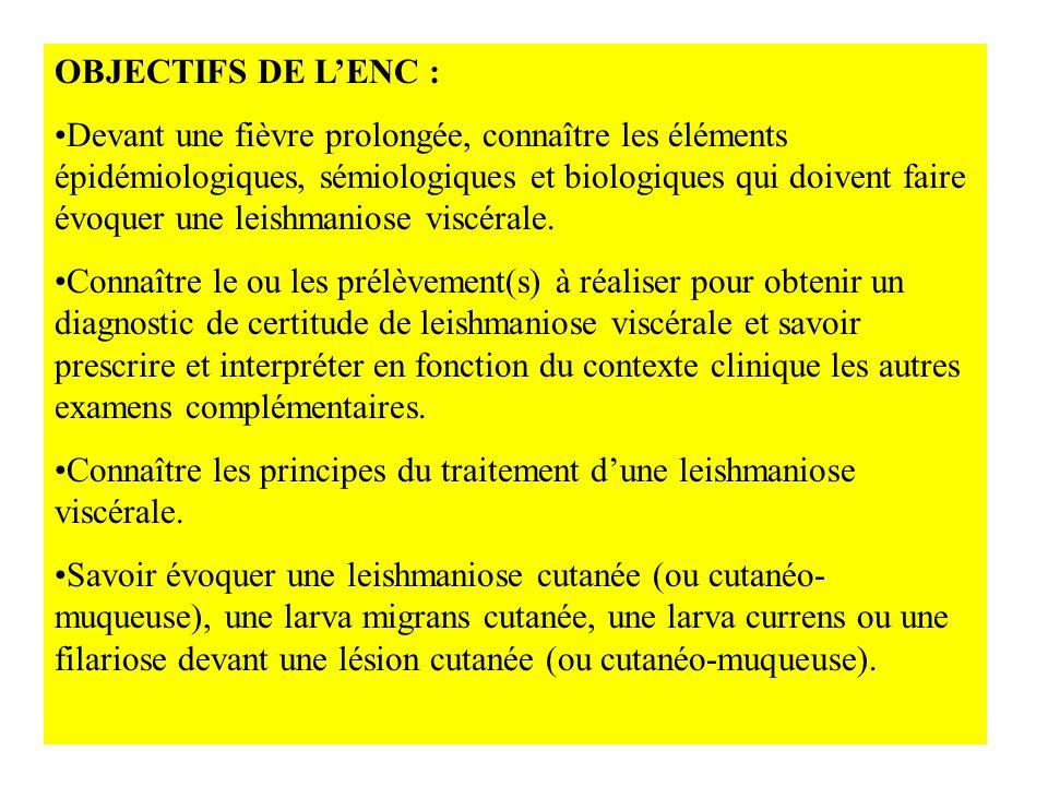 OBJECTIFS DE L'ENC :