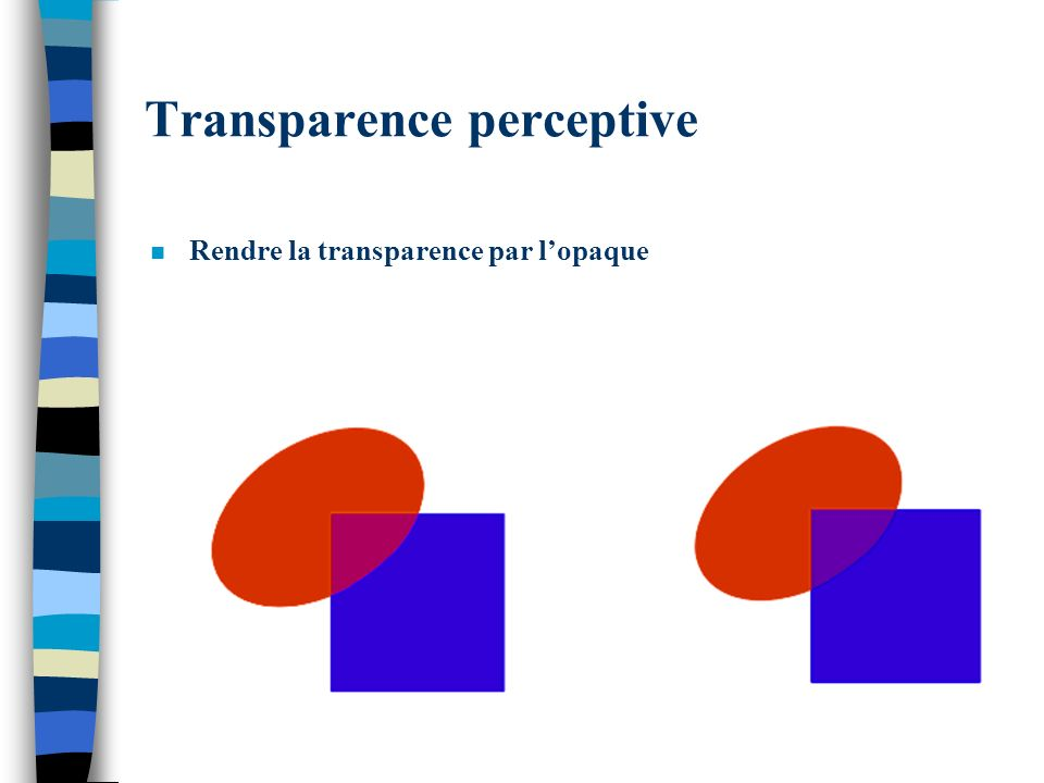 Transparence perceptive