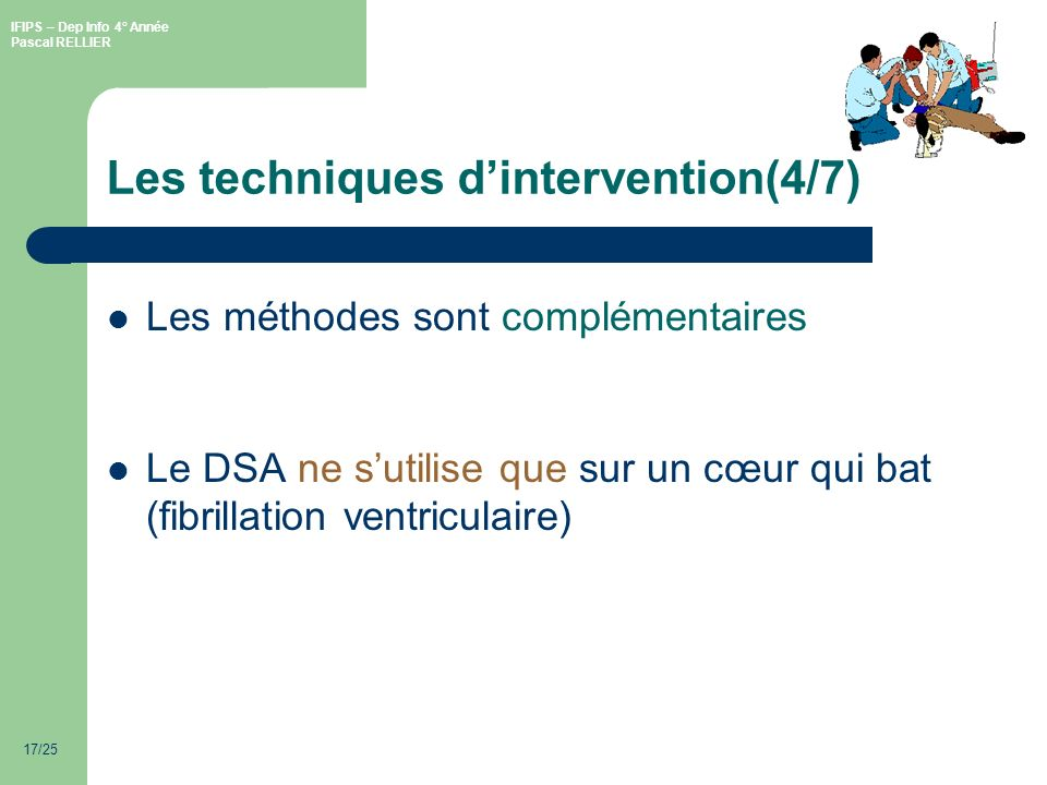 Les techniques d'intervention(4/7)