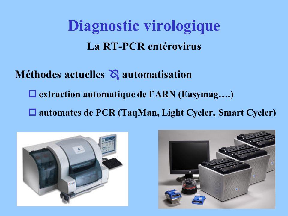 Diagnostic virologique La RT-PCR entérovirus