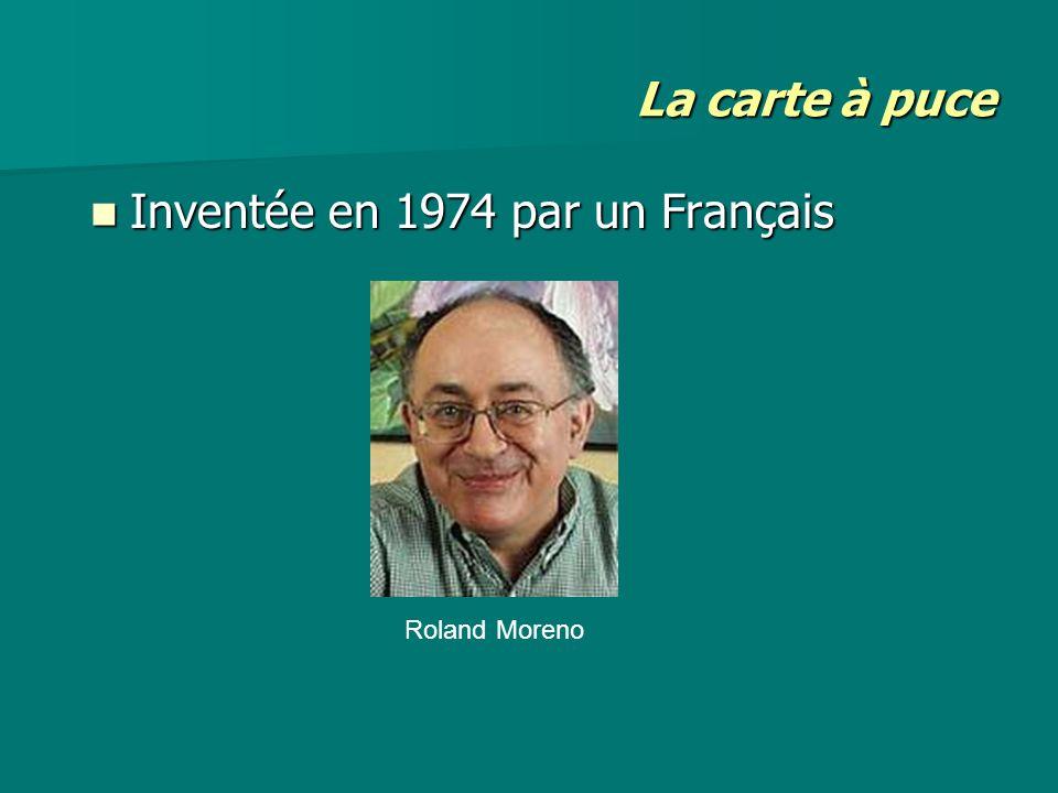 Inventée en 1974 par un Français