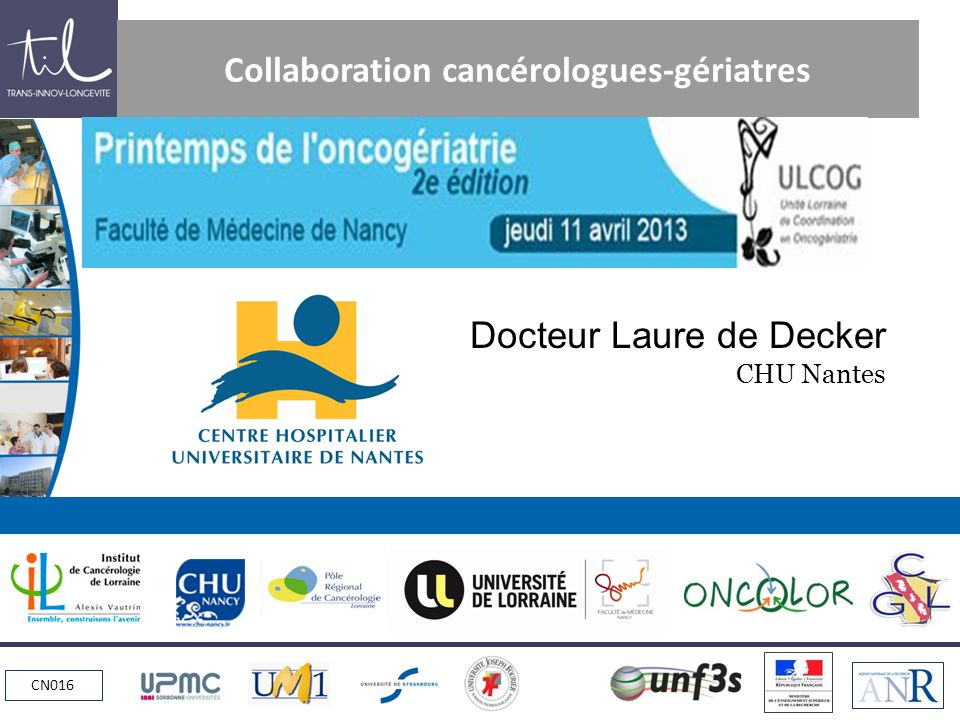 Collaboration cancérologues-gériatres