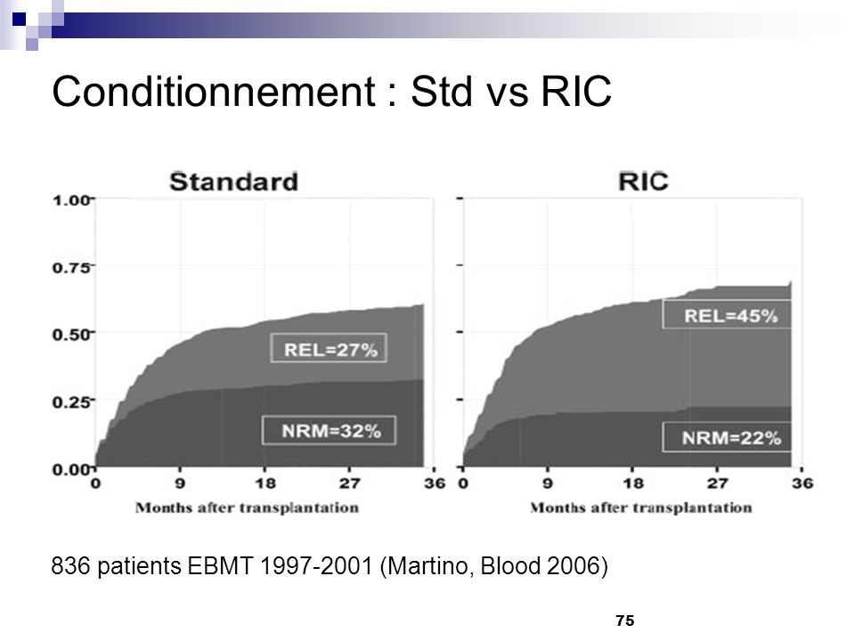 Conditionnement : Std vs RIC