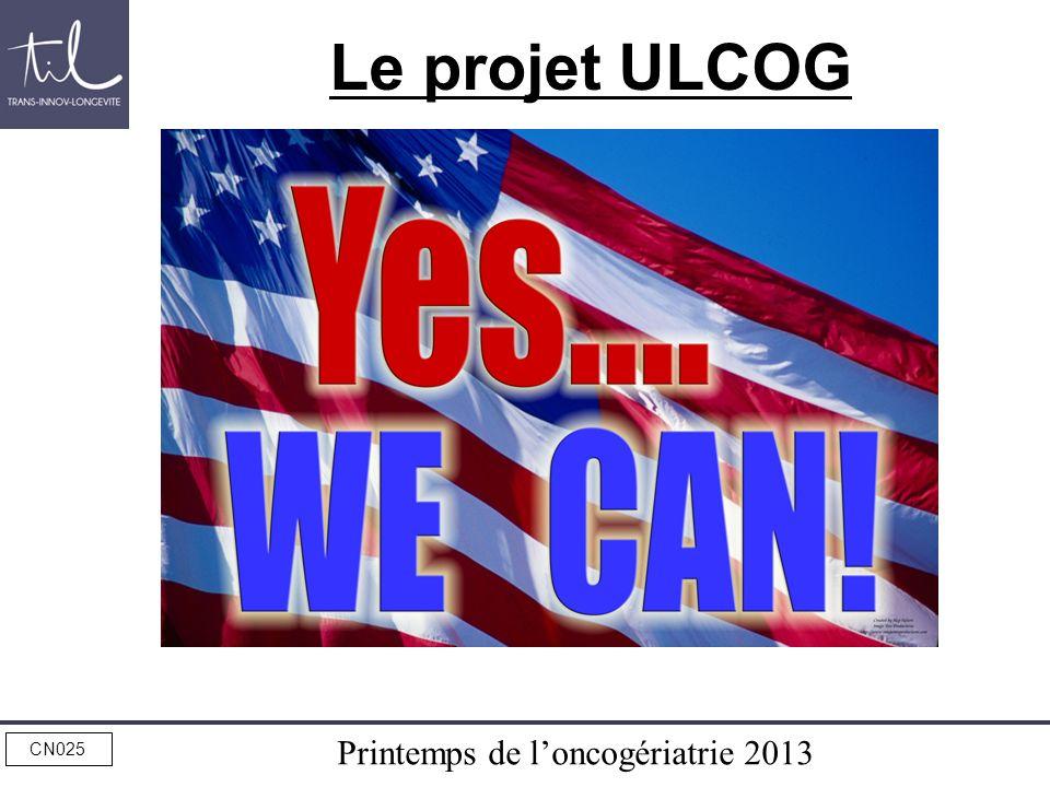 Le projet ULCOG