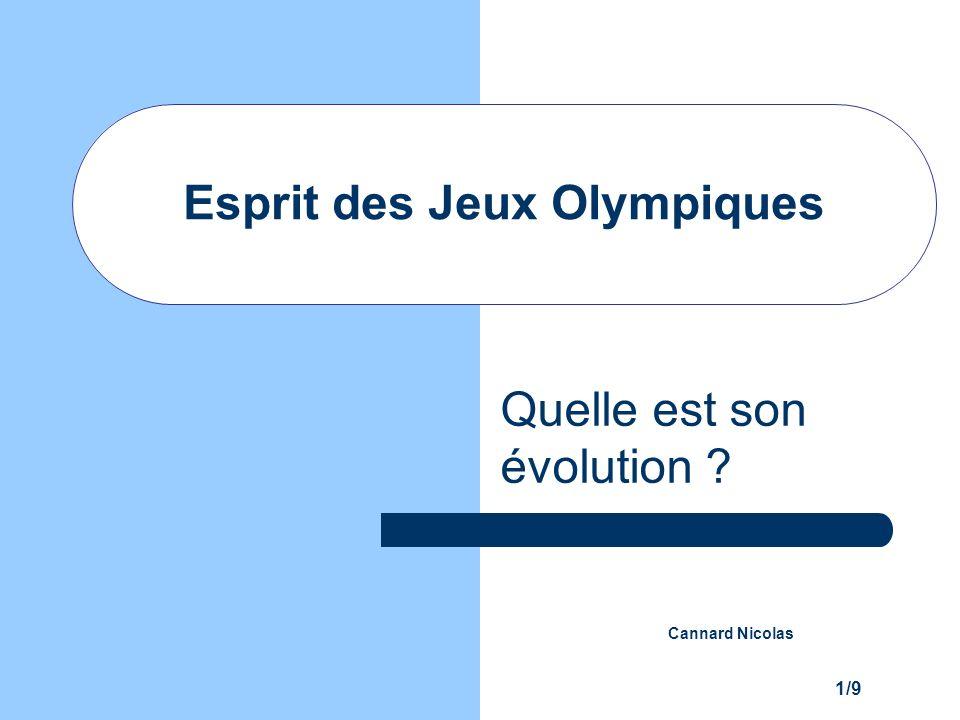 Esprit des Jeux Olympiques