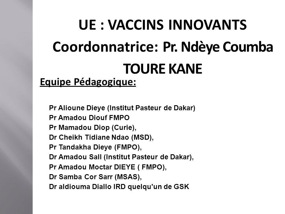Coordonnatrice: Pr. Ndèye Coumba TOURE KANE