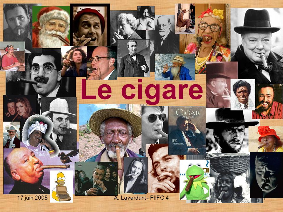 Le cigare 17 juin 2005 A. Laverdunt - FIIFO 4