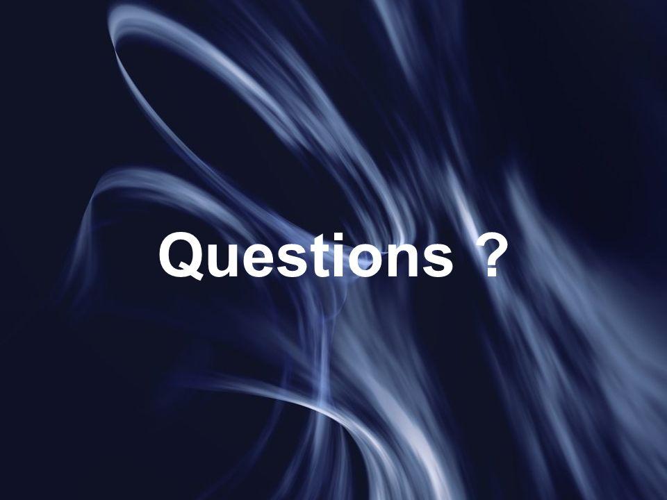 Questions 17 juin 2005 A. Laverdunt - FIIFO 4