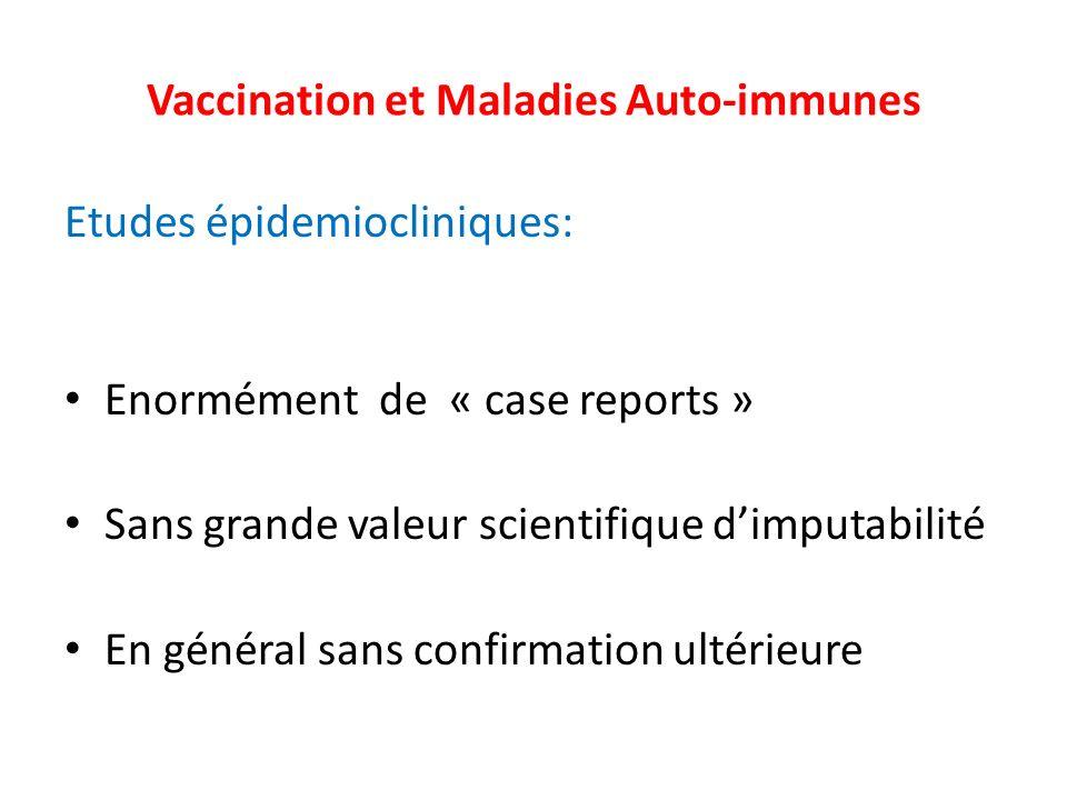 Vaccination et Maladies Auto-immunes