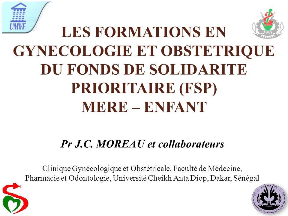 Pr J.C. MOREAU et collaborateurs
