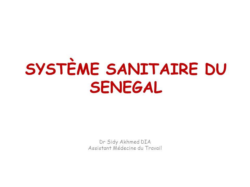 SYSTÈME SANITAIRE DU SENEGAL