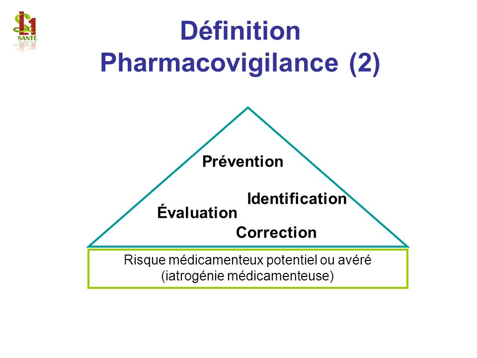 Définition Pharmacovigilance (2)