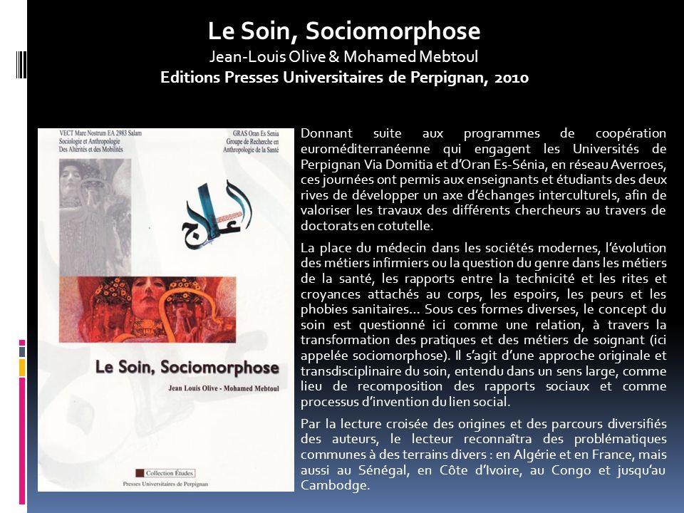 Editions Presses Universitaires de Perpignan, 2010