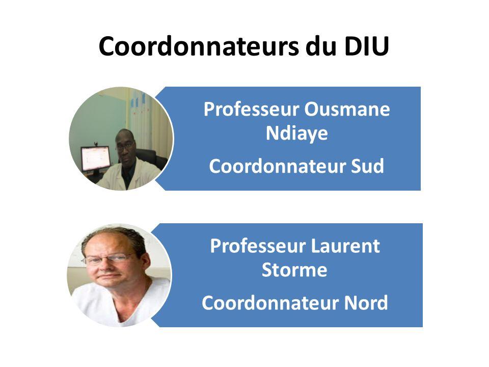 Professeur Ousmane Ndiaye Professeur Laurent Storme