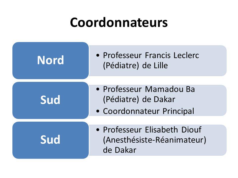 Coordonnateurs Nord Sud Professeur Francis Leclerc (Pédiatre) de Lille