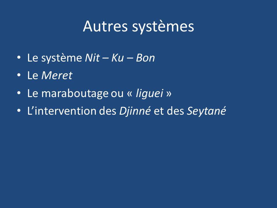 Autres systèmes Le système Nit – Ku – Bon Le Meret