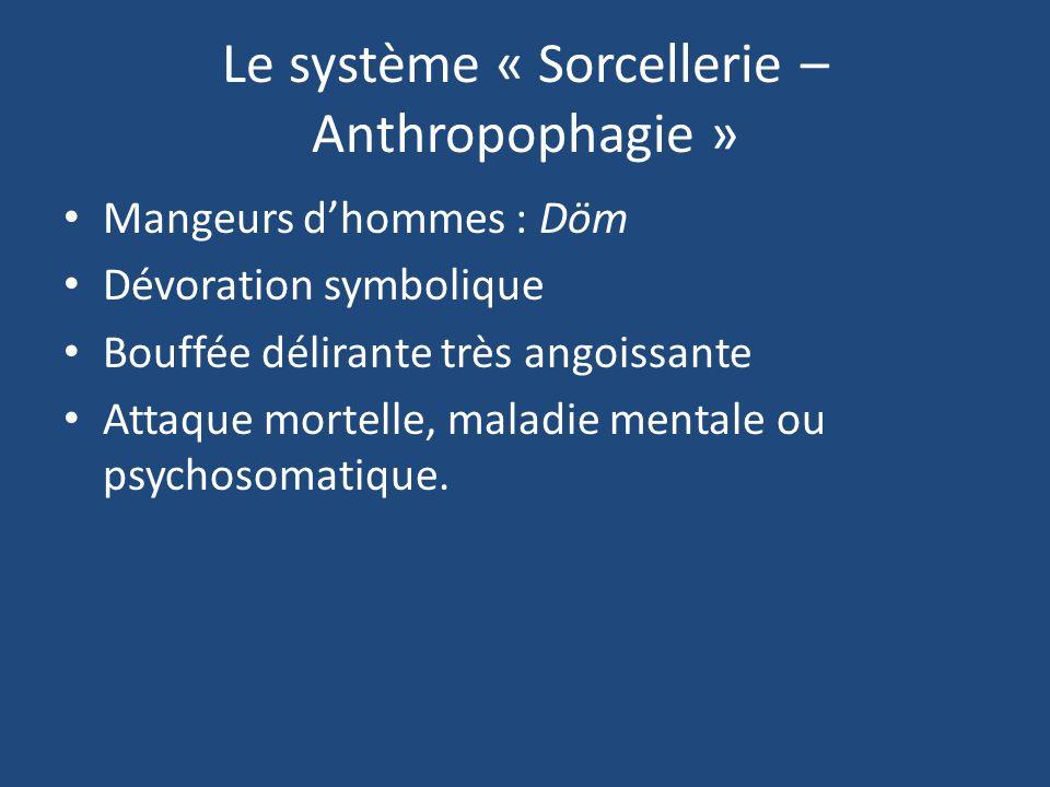 Le système « Sorcellerie – Anthropophagie »