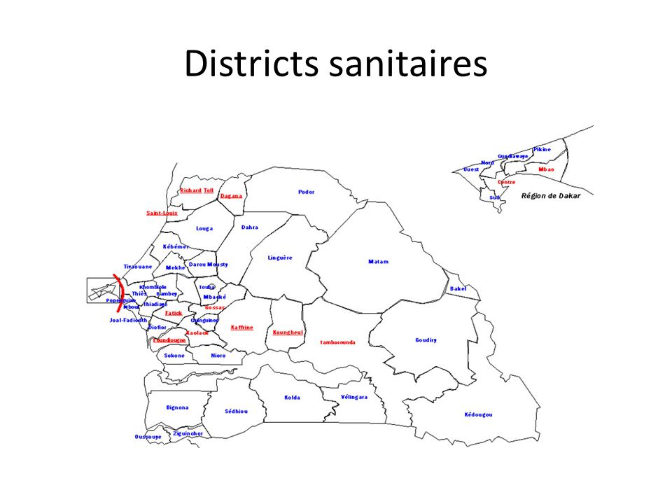 Districts sanitaires