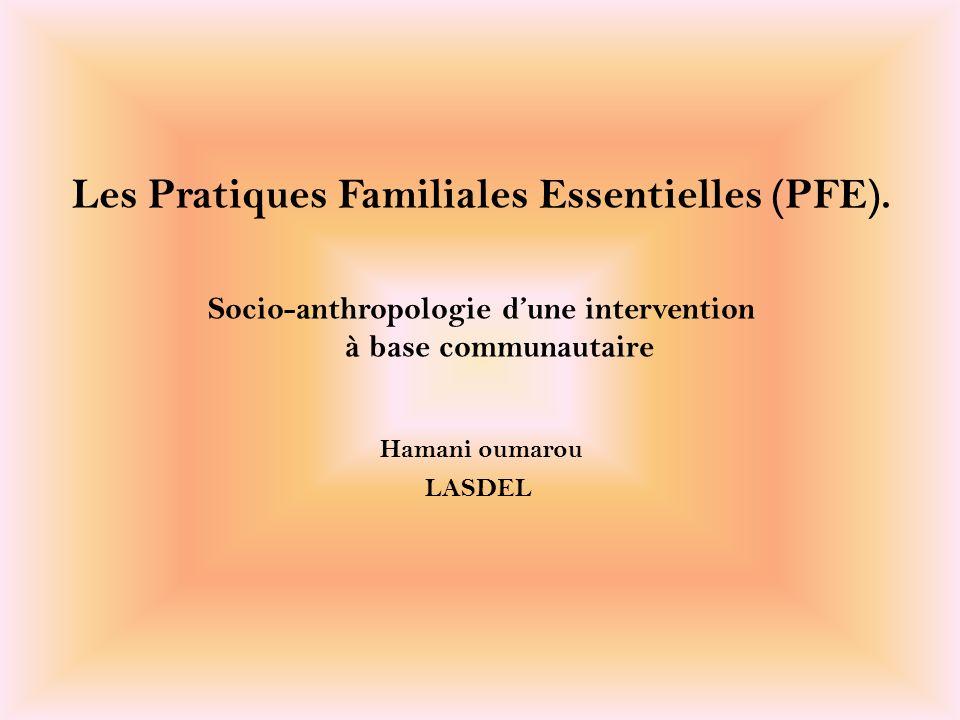 Les Pratiques Familiales Essentielles (PFE).