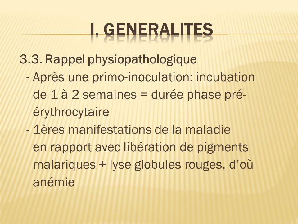 I. GENERALITES