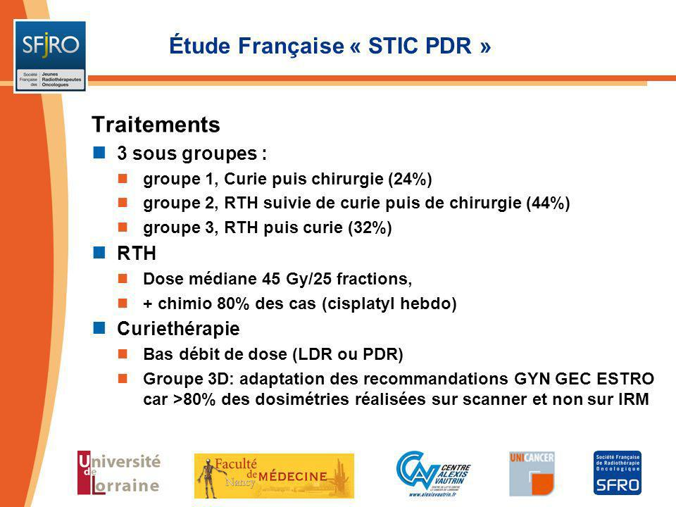 Étude Française « STIC PDR »