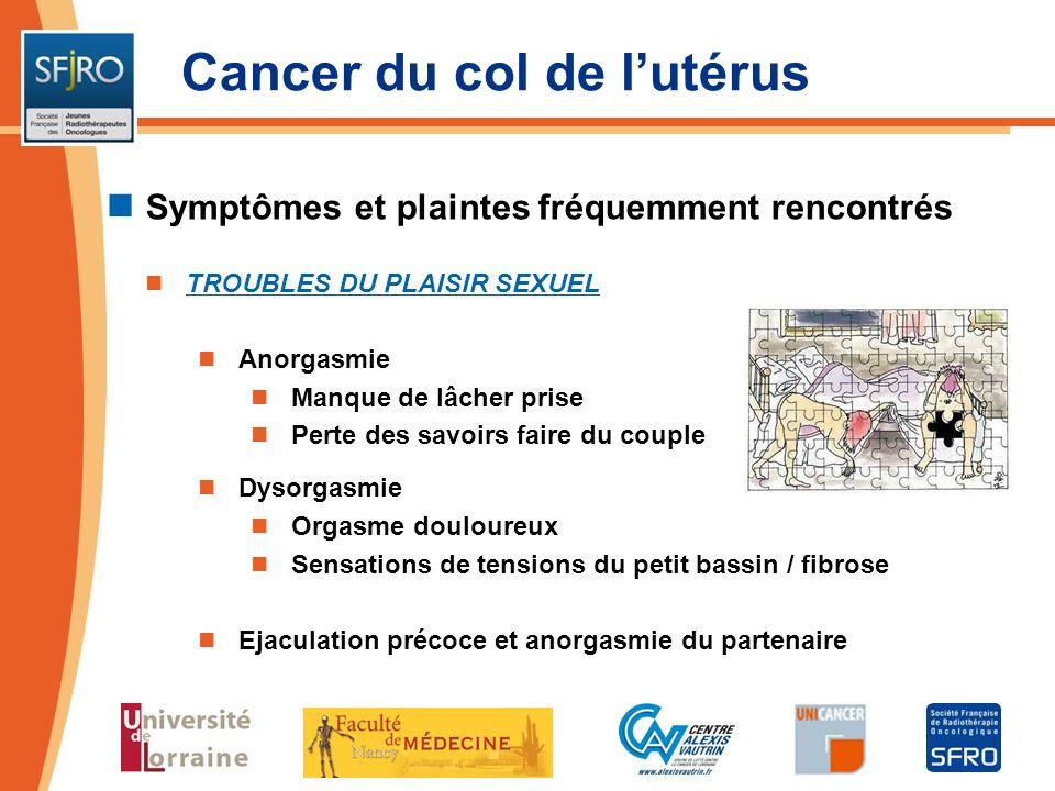 Cancer du col de l'utérus
