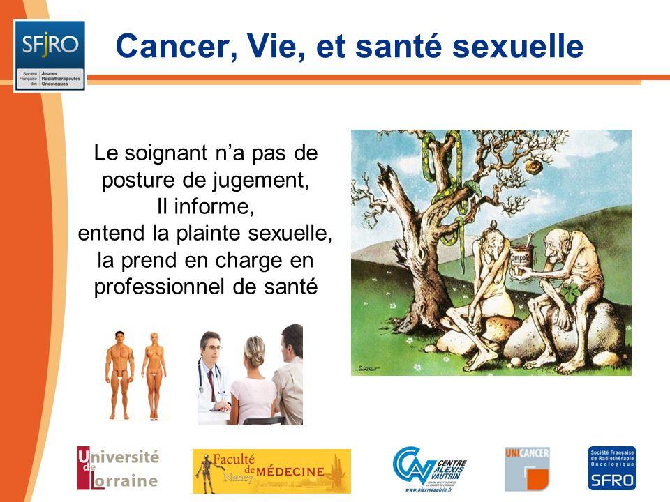 Cancer, Vie, et santé sexuelle