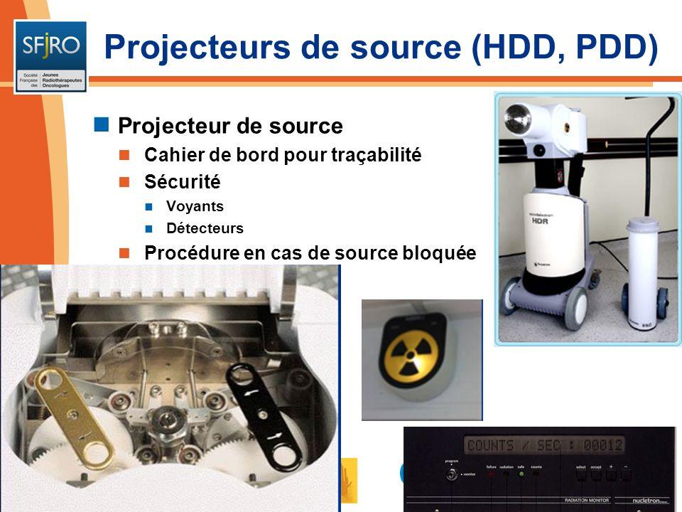 Projecteurs de source (HDD, PDD)