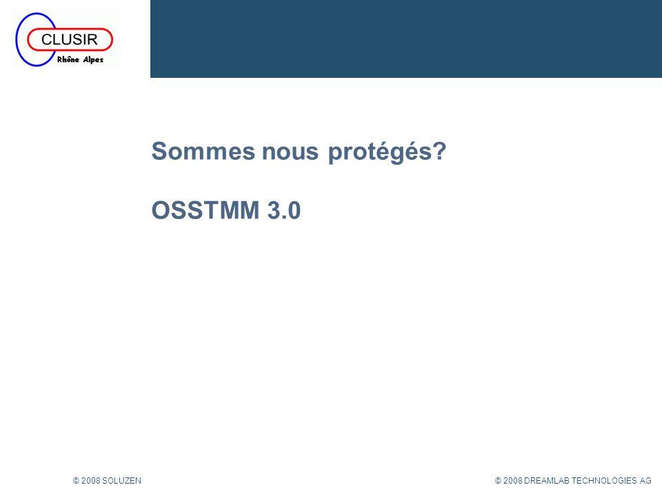 Sommes nous protégés OSSTMM 3.0