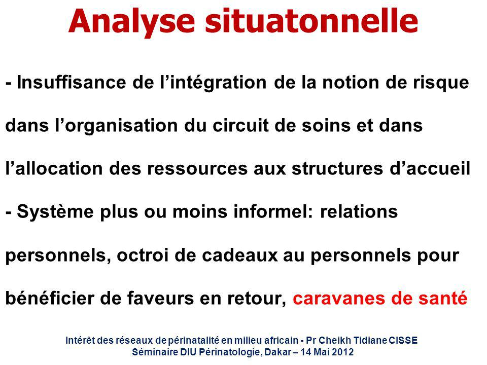 Analyse situatonnelle