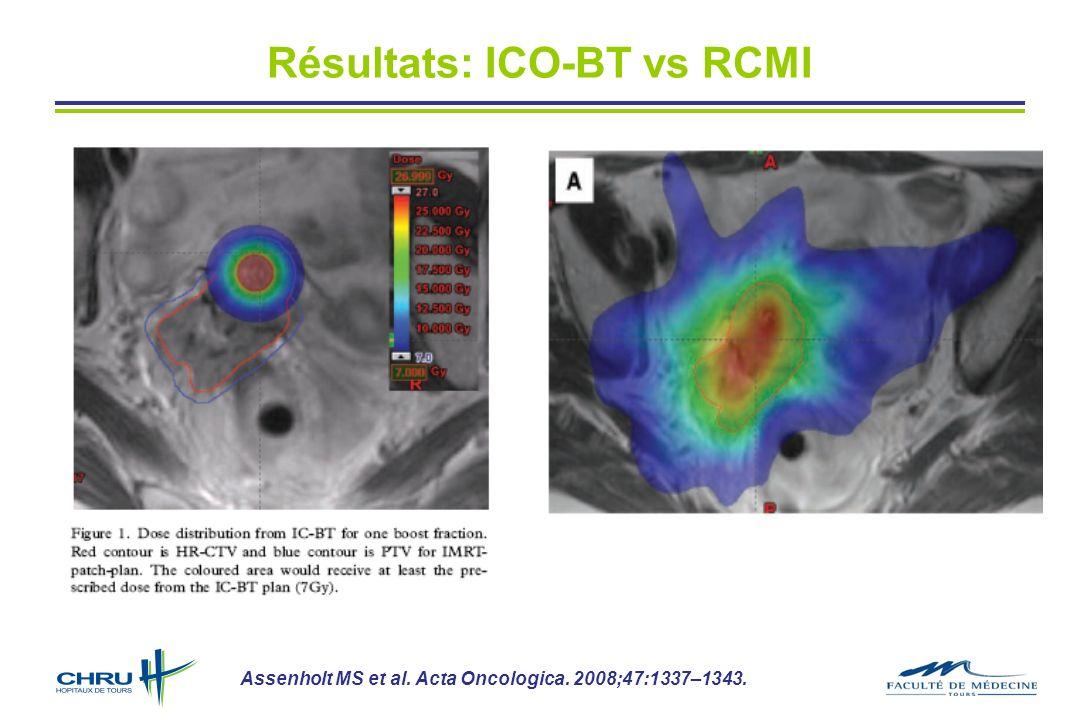 Résultats: ICO-BT vs RCMI