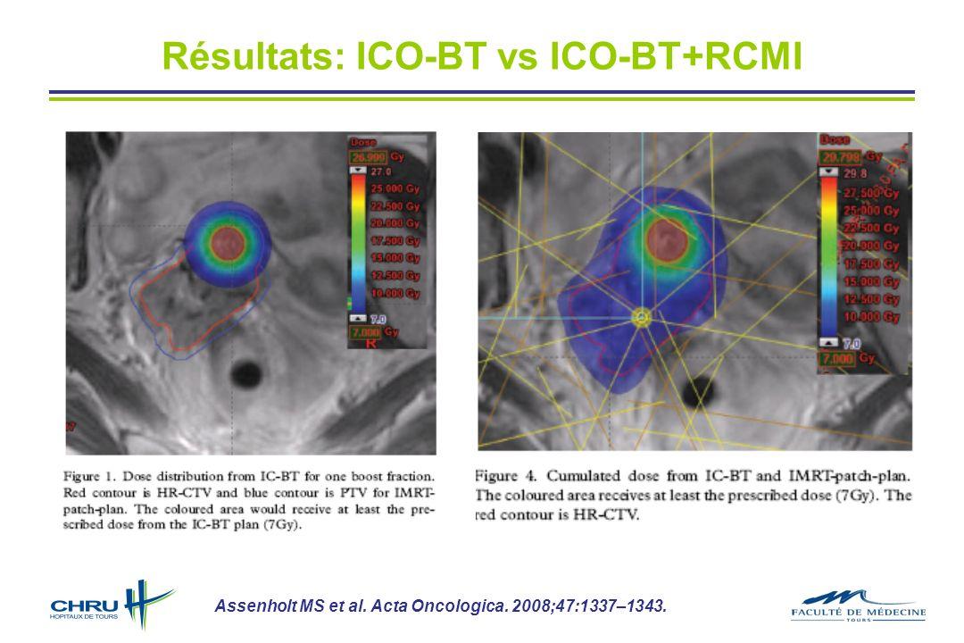 Résultats: ICO-BT vs ICO-BT+RCMI