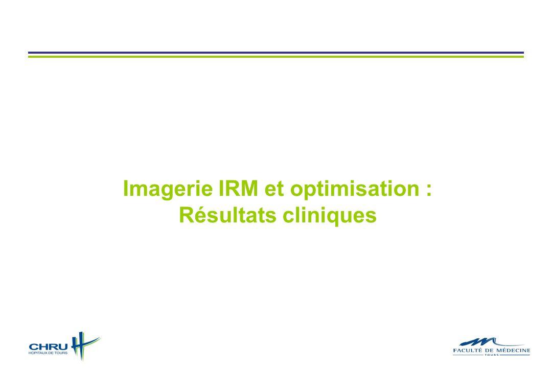 Imagerie IRM et optimisation :