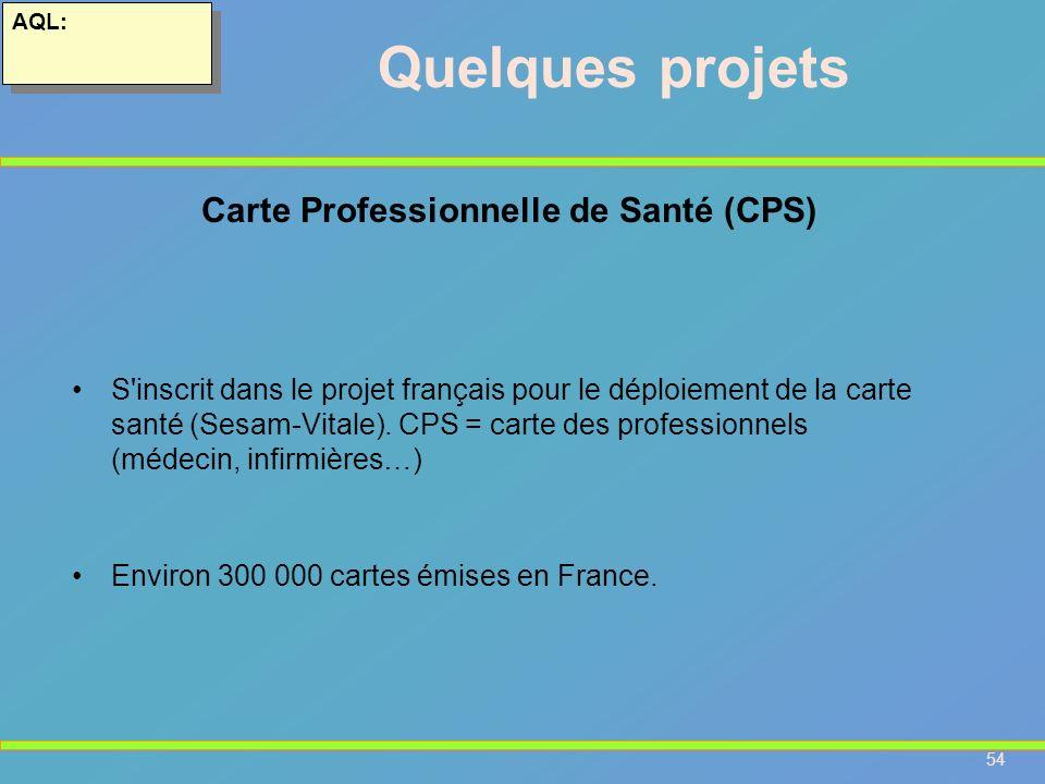 Carte Professionnelle de Santé (CPS)