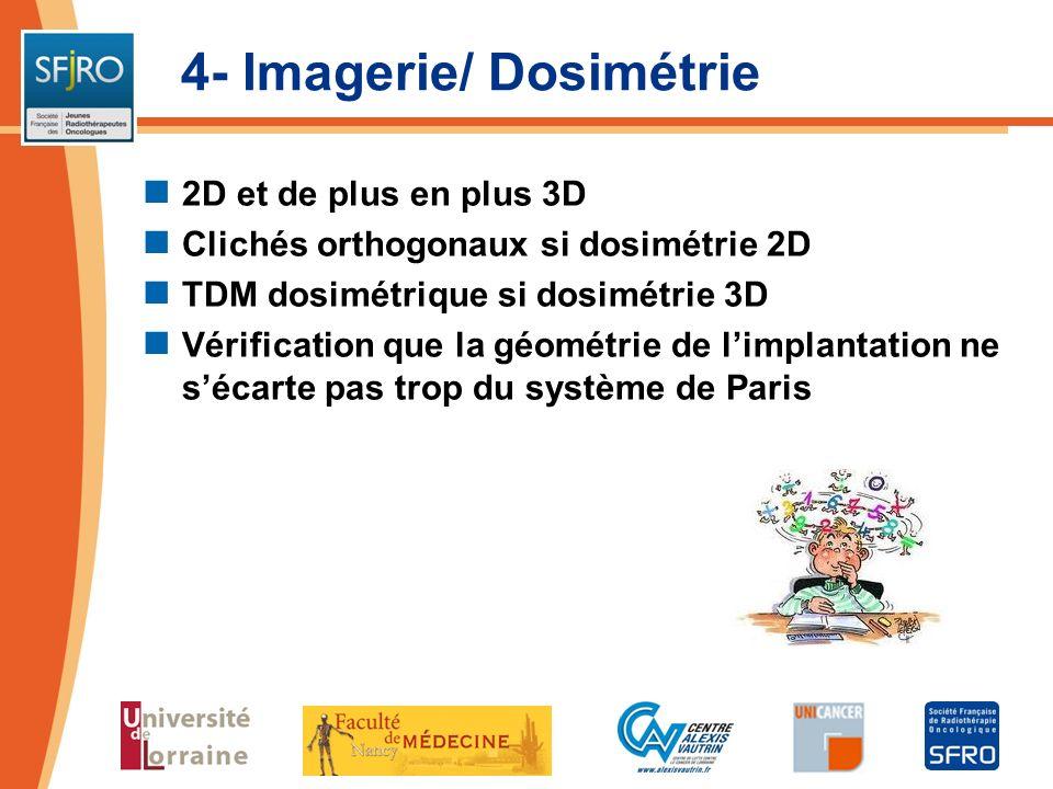 4- Imagerie/ Dosimétrie